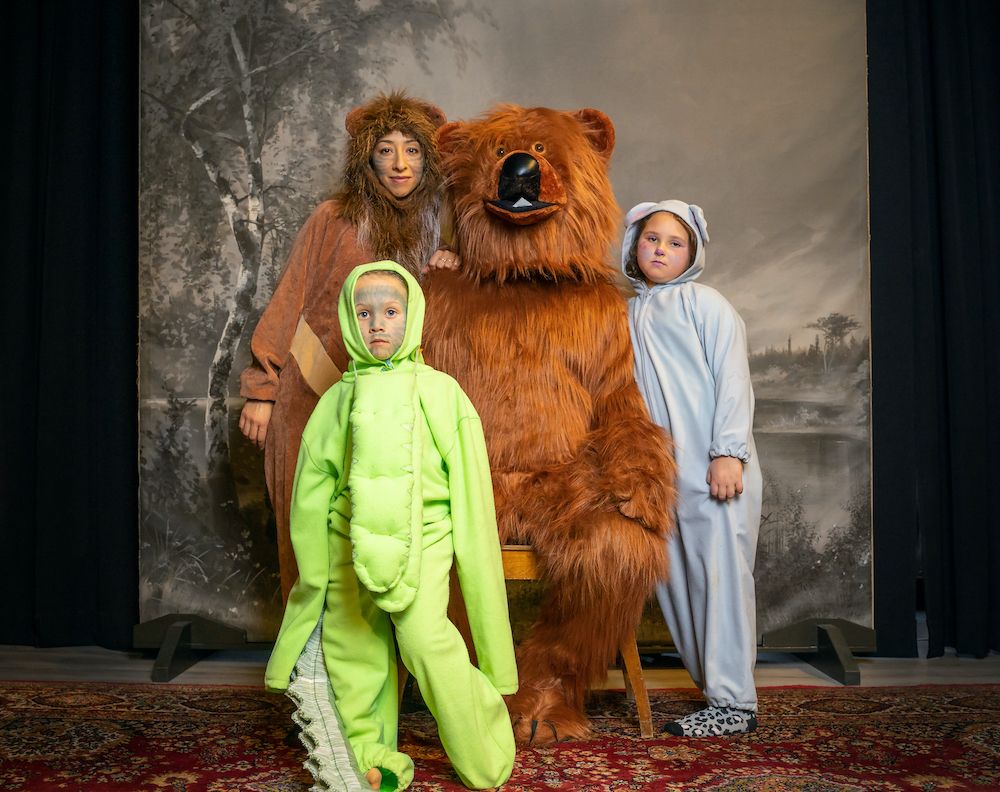 II Manar & Tuomas and their family in fancy dress costumes at the Pyhälahti Photography Studio Museum, Lapua.jpg